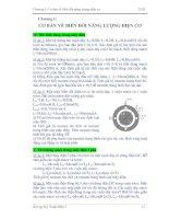 Tài liệu Bài tập Cơ bản về biến đổi năng lượng điện cơ doc