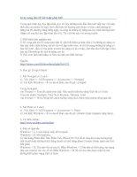Tài liệu 16 kỹ năng dân IT bắt buộc phải biết pptx