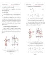 Tài liệu Các đặc tính cơ bản khi hãm động cơ điều khiển pdf