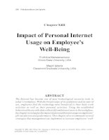 Tài liệu Personal Web Usage in the Workplace: A Guide to Effective Human Resources Management Part 7 doc