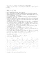 Tài liệu Cấp giấy phép cho người nước ngoài vào khu vực biên giới, khu vực cấm pdf