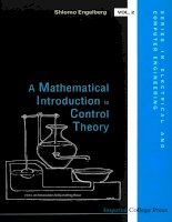 A mathematical introduction to control theory