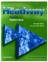 Tài liệu New Headway beginner - Teacher''''s Book pdf