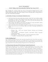Tài liệu DAY TRADING Giới Thiệu bởi Greenbucks Global Services LLC pptx