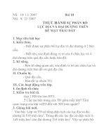 Tài liệu Địa lý lớp 6 bài 10 doc