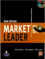 Tài liệu New Edition Market leader: Elementary Business English Course Book pptx