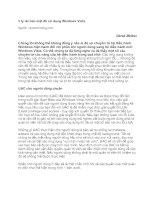Tài liệu 5 lý do bảo mật để sử dụng Windows Vista pdf
