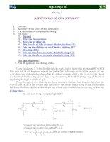 Tài liệu Chương 5 ÐÁP ỨNG TẦN SỐ CỦA BJT VÀ FET pdf