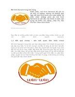 Tài liệu Mô hình Havard trong bán hàng pdf