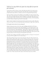 Tài liệu Xuất xứ và mục đích của quản trị xung đột (corporate governance) docx