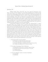 Tài liệu Section Three: Reading Comprehension (5) doc