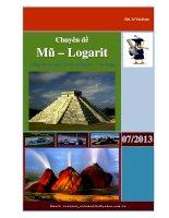 Chuyên đề Mũ – Logarit