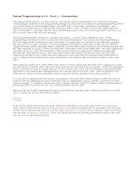 Tài liệu SocketProgramminginC#Part1–Introduction pptx