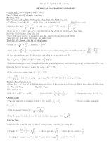 Tài liệu Hệ thống các bài tập Vật lý lớp 12 pdf