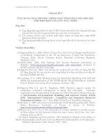 Tài liệu Chuyên đề 3 : ỨNG DỤNG GIS & PHƯƠNG TRÌNH USLE TÍNH TÓAN XÓI MÒN ĐẤT CHO MỘT KHU VỰC (LƯU VỰC, TỈNH) ppt