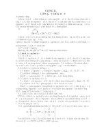 Tài liệu Lý thuyết và bài tập ôn thi CĐ ĐH môn Hóa - Chương 2 ppt