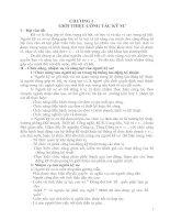 Tài liệu CHƯƠNG I : GIỚI THIỆU CÔNG TÁC KĨ SƯ pdf