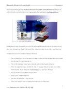 Tài liệu Chương 11: Những kỹ thuật layer tiên tiến pptx