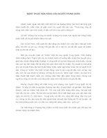 Tài liệu NGHỆ THUẬT BÁN HÀNG CỦA NGƯỜI TRUNG QUỐC docx