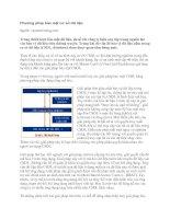 Tài liệu Phương pháp bảo mật cơ sở dữ liệu pdf
