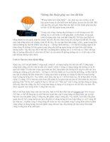 Tài liệu Những thủ thuật giúp sao lưu dữ liệu pdf
