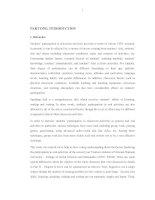 NGHIÊN cứu PHƯƠNG PHÁP KHẮC PHỤC NHÂN tố ẢNH HƯỞNG tới VIỆC THAM GIA HOẠT ĐỘNG nói của SINH VIÊN năm THỨ HAI KHOA DU LỊCH TRƯỜNG đại học KHOA học xã hội và NHÂN văn