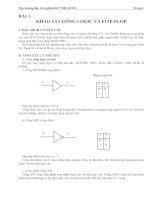 Tài liệu Hướng dẫn thí nghiệm kỹ thuật số P1 pptx