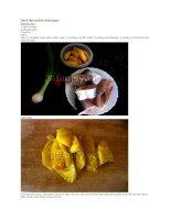 Cách làm cá kho dứa ngon