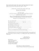 Tài liệu MẪU ĐƠN ĐỀ NGHỊ CẤP GIẤY CHỨNG NHẬN ĐỦ ĐIỀU KIỆN KINH DOANH KHÍ ĐỐT pptx