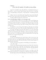 Tài liệu Chương 6: Các cơ cấu khác của đồ gá gia công pptx