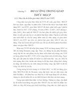 Tài liệu Nghiên cứu phương pháp đo lường trong giao thức BICC và MGCP, chương 7 pdf