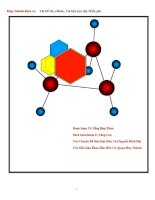 Tài liệu Các chuyên đề hóa hữu cơ doc