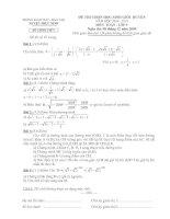 Tài liệu Đề thi chọn HSG môn Toán lớp 9 năm học 2009-2010 pdf