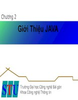 Tài liệu Công nghệ lập trình hứơng đối tượng_ Chương 2 doc