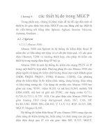 Tài liệu Nghiên cứu phương pháp đo lường trong giao thức BICC và MGCP, chương 9 ppt