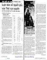 Tài liệu Võ thuật Trung hoa - P1 docx