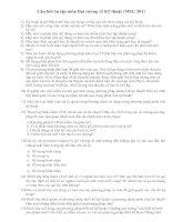 Tài liệu Câu hỏi ôn tập môn đại cương về kỹ thuật (MEC 201) pdf
