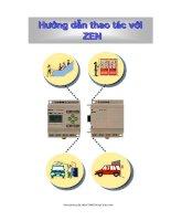 Tài liệu Hướng dẫn thao tác ZEN ppt
