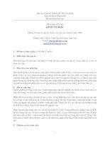 Tài liệu Đề cương môn học KINH TẾ HỌC pdf