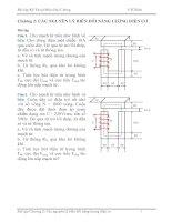 Tài liệu Bài tập các nguyên lý biến đổi năng lượng điện cơ pdf