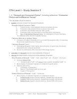 Tài liệu CFA Level I - Study Session 5 pptx