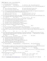 Tài liệu Đề tham khảo trắc nghiệm Hóa học lớp 12 pdf