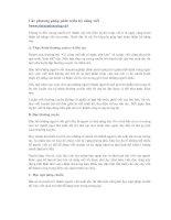 Tài liệu Các phương pháp phát triển kỹ năng viết pptx