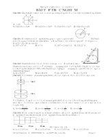 Tài liệu Bài tập trắc nghiệm cơ học vật rắn tĩnh học docx
