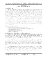 Luận văn Đồ án tốt nghiệp chuyên ngành Cầu - Thiết kế cầu theo tiêu chuẩn 22TCN – 272 – 05