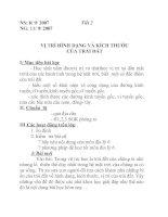 Tài liệu Địa lý lớp 6 bài 1 pptx