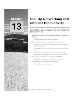Tài liệu Dial-Up Networking and Internet Productivity docx