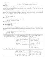 Tài liệu BÀI TẬP VỀ VECTƠ TRONG KHÔNG GIAN doc