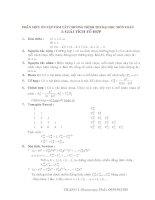 Tóm tắt công thức ôn thi đại học môn toán