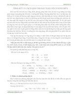 Tài liệu TỔNG KẾT 18 CÁCH GIẢI CHO BÀI TOÁN VÔ CƠ KINH ĐIỂN - VŨ KHẮC NGỌC pdf
